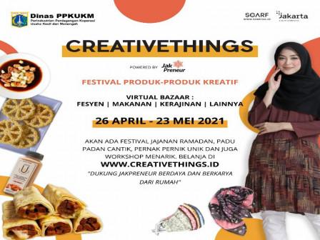 132 Jakpreneur Ramaikan Festival Produk-produk Kreatif