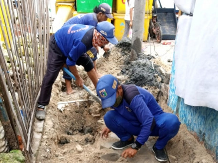 Rainy Season, Two Channels on Kelapa Island Being Developed