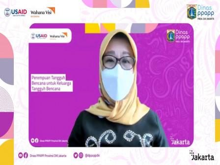Dinas PPAPP-BPBD Adakan Webinar Perempuan Tangguh Bencana