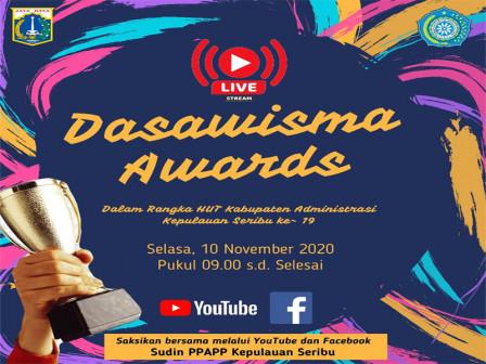Enam Kelompok Ikut Ajang Dasawisma Awards Peringati HUT Kabupaten Kepulauan Seribu