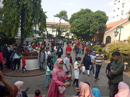 Eid Holiday, Jakarta History Museum Crowded by Visitors