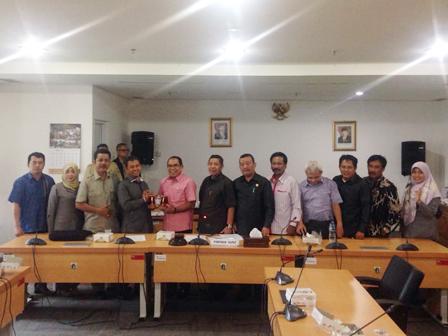 City DPRD Gets Work Visit from Magetan DPRD