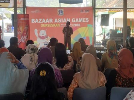Bazaar Asian Games Digelar di Lenggang Jakarta