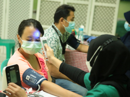 126.048 Warga di Kecamatan Tebet Sudah Divaksin Dosis Pertama