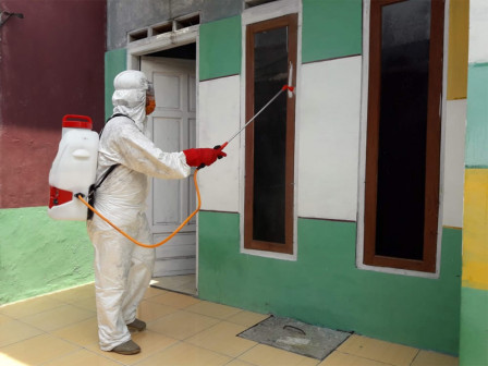 Again, Six Urban Villages in Thousand Islands Sprayed with Disinfectant