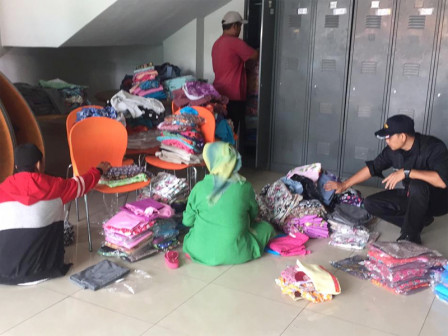 East Jakarta PPKD to Donate New Clothes for Flood Victims