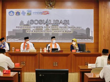 Pemkot Jakpus Gelar Sosialisasi PPDB 2021/2022
