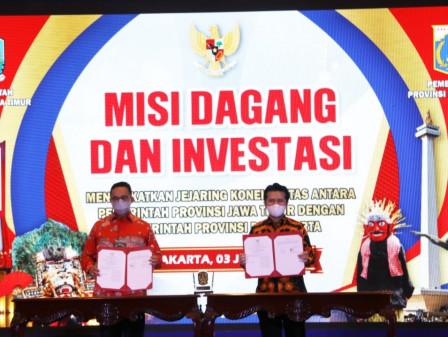 Gubernur Anies Berharap Kerja Sama DKI Jakarta dan Jatim Berlandaskan Keadilan Bagi Semua Kalangan