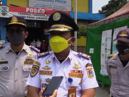 Terminal Tanjung Priok Lakukan Pengetatan Mudik Jelang Lebaran