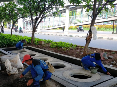 Central Jakarta Has Completed 302 Infiltration Wells
