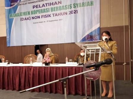 Dinas PPKUKM Adakan Pelatihan Manajemen Koperasi Berbasis Syariah