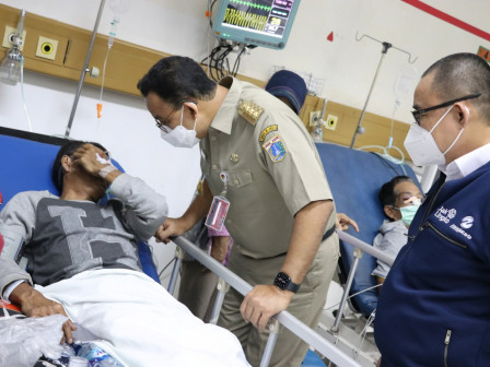 Gubernur Anies Pastikan Seluruh Biaya Perawatan Korban Kecelakaan Akan Ditanggung Transjakarta