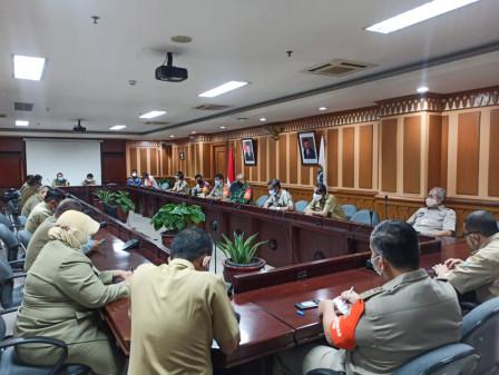 Bersama TNI dan Polri, Pemkot Jaksel Gelar Gelar Rapat Antisipasi Kerumunan Saat Natal dan Tahun Bar