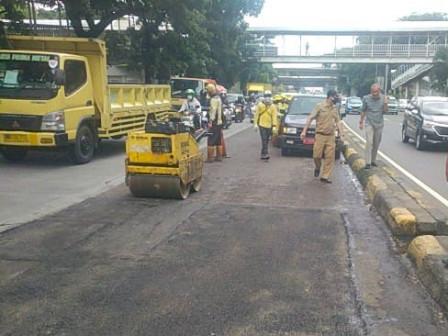 2.394 Jalan Rusak di Jaktim Telah Diperbaiki