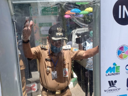 8 Puskesmas in Central Jakarta Equipped with Disinfection Chambers