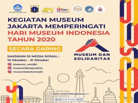 Peringati Hari Museum Indonesia, Disbud DKI Gelar Banyak Kegiatan