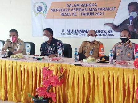 Legislator Komisi D DPRD Ini Serap Aspirasi Warga Pulau Kelapa