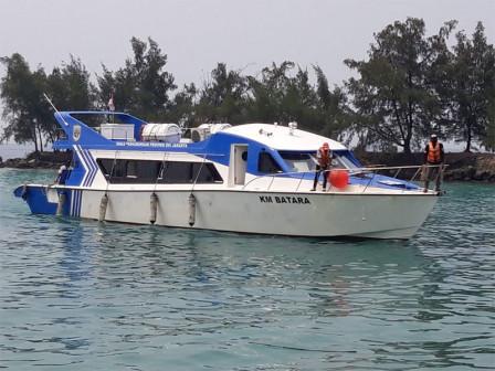 Kapal Penumpang Dishub Rute Kepulauan Seribu Kembali Beroperasi