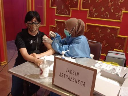 Capaian Vaksinasi Dosis Kedua di Kecamatan Kepulauan Seribu Selatan Mencapai 5.743 Sasaran