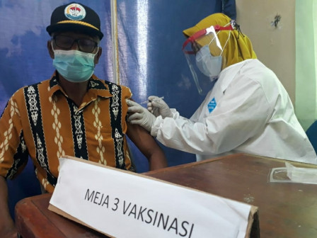 123 Elderly People in Thousand Islands Have Been Injected with First Dose of COVID-19 Vaccine
