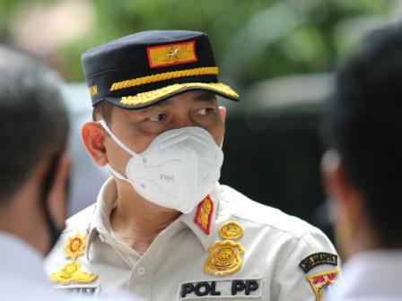 Personel Satpol PP DKI Dilarang Ambil Barang Pedagang