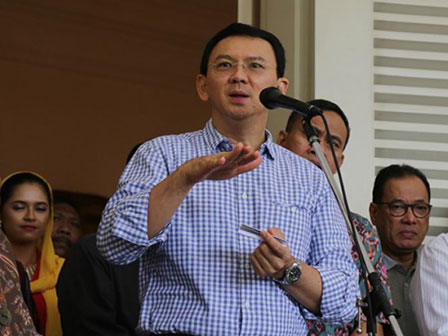 Tomorrow, Basuki Watches Movie Together with Citizens