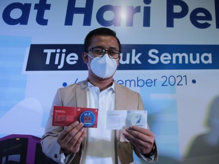 PT Transjakarta Luncurkan Pin Pelanggan Prioritas