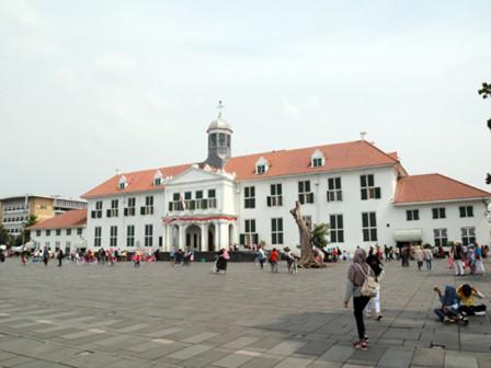 Disparbud Arranges Pedestrian Path for Kota Tua Tourist Destinations Visitors