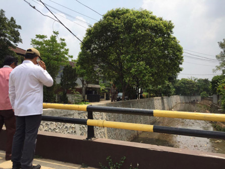 Residents Grateful, Swadarma PHB Channel's Retaining Wall Elevated