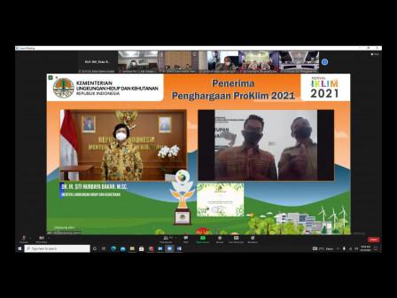 8 RW di Jakarta Raih Penghargaan Proklim dari Kementerian LHK