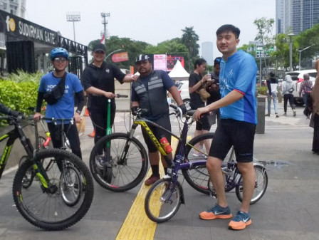 Warga dan PKL Dukung Penataan HBKB Sudirman-Thamrin