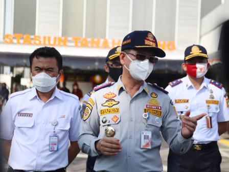 Trial Arrangement of Tanah Abang Station Begins