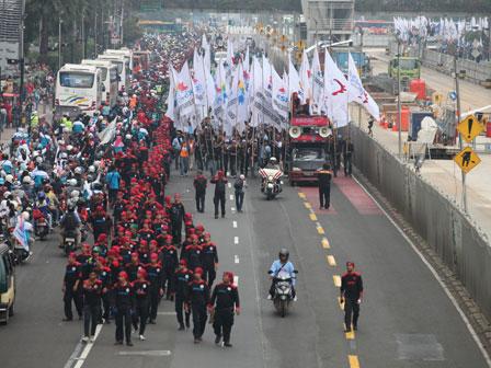 demo mayday beritajakarta 2014