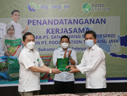 PT Food Station Kerja Sama Dengan PT SHS Amankan Pasokan Pangan