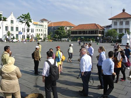 UCLG-ASPAC Participants Visited Kota Tua & Kalijodo RPTRAs