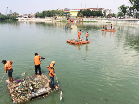 Sunter Selatan Reservoir Cleanliness Gets Improved