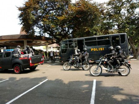 S. Jakarta Police Holds Simulation Ahead of Asian Games