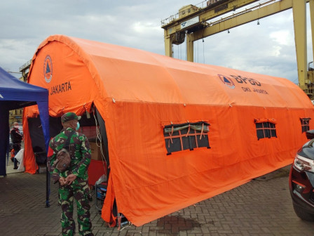 BPBD Supports Crashed Plane Rescue Team By Providing Logistic Aid