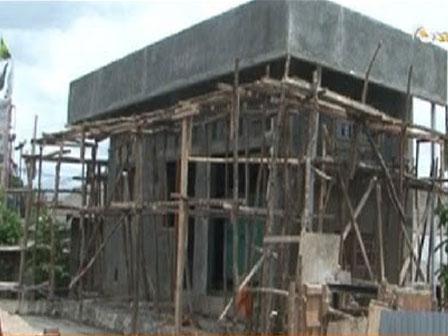 pembangunan rumah pompa dok beritajakarta