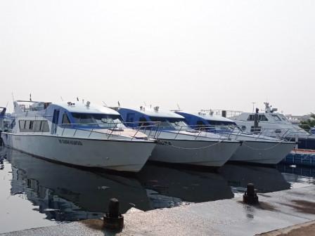 Tiga Kapal Dishub Siap Melayani Wisatawan ke Kepulauan Seribu
