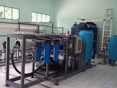 Pulau Panggang Butuh Sarana Air Bersih