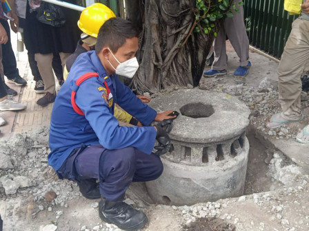 Batu Bekas Penggilingan Tebu Tahun 1.700 Ditemukan di Jl TB Simatupang