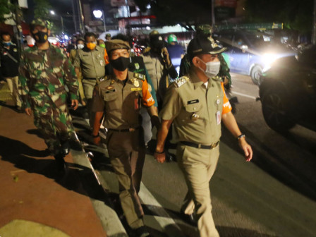 Violating PSBB Regulations, 15 Business Places in Central Jakarta Forcibly Closed