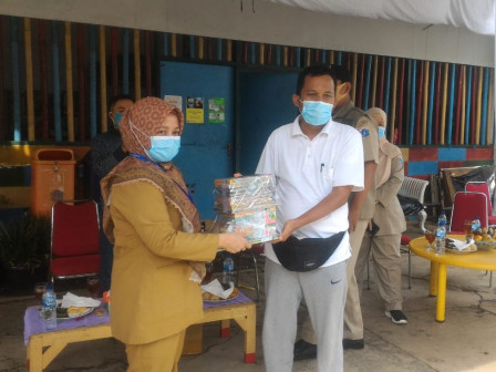 Commission A Member Holds Health Protocols Monitoring in Pejaten Timur