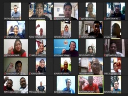 22 Pengurus Kota Cabang Olahraga Hadiri Rakor KONI Jakarta Utara