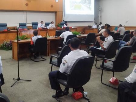 SDA Jaktim Sosialisasikan Rencana Pembangunan Saluran Phb dan Crossing di Jl I Gusti Ngurah Rai