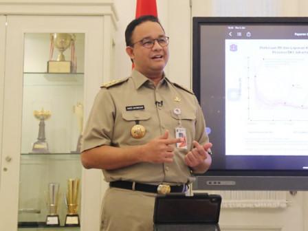 Anies Extends Jakarta PSBB, June Becomes Transition Period