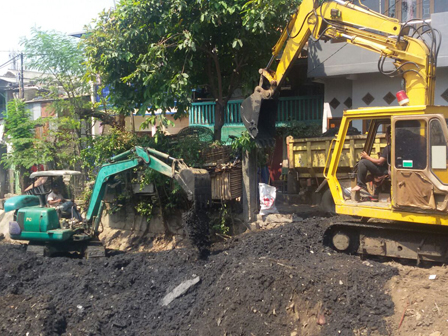 550 Tons of Kalibata Connecting Channel Sediment Dredged