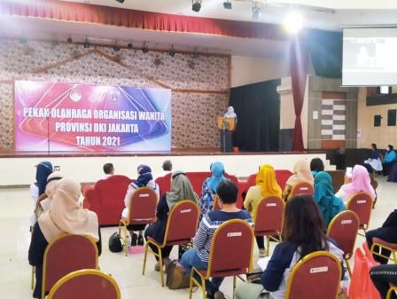 Ketua DWP DKI Buka Pekan Olahraga Organisasi Wanita di GRJT