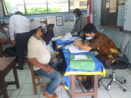 Pendistribusian BST di Kebon Bawang Terapkan Prokes yang Ketat
